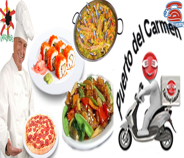 Puerto del Carmen Restaurants Delivery Lanzarote - Puerto del Carmen Restaurants Food Delivery - Shoppings Delivery Puerto del Carmen Lanzarote