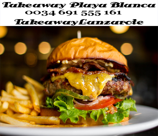 Takeaway Playa Blanca - Various Restaurants in Playa Blanca with Delivery , names like Atlantico Restaurant Takeaway - Free Delivery Playa Blanca