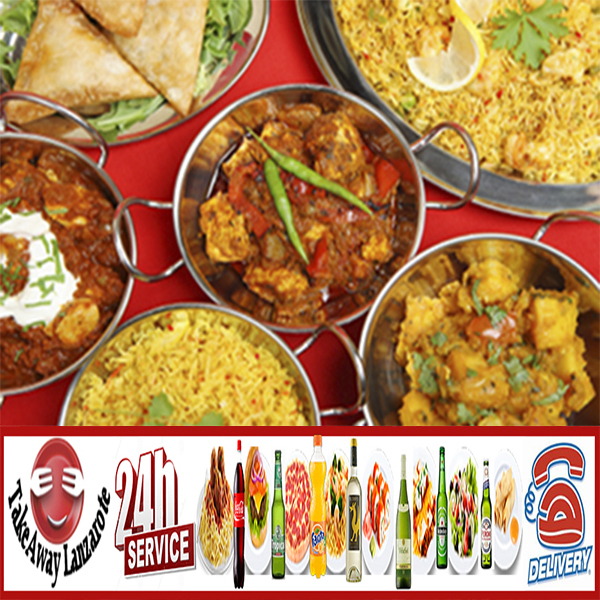 Takeaway Lanzarote Indian Delivery Restaurants